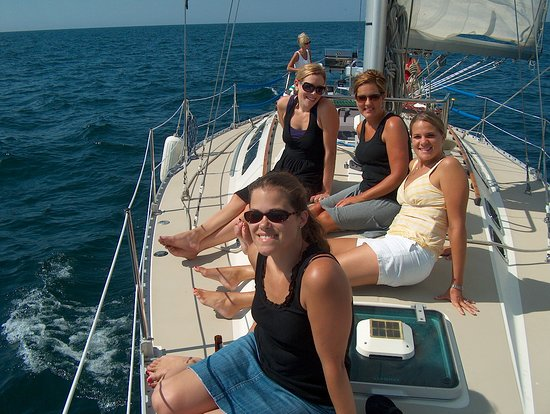 Saugatuck, MI: Friends outings are best done on the water