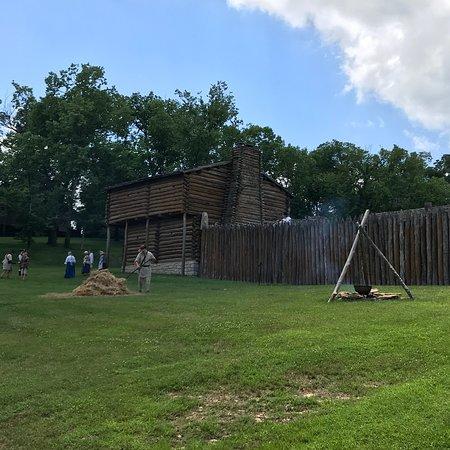 Bilde fra Old Fort Harrod State Park