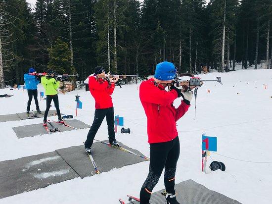Altitude Biathlon: Du biathlon pour les entreprises