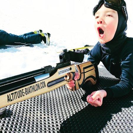 Altitude Biathlon: Du biathlon grand public