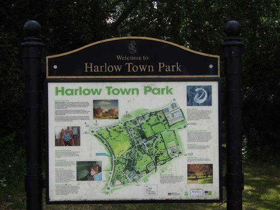 Entrance Sign Picture Of Harlow Town Park Tripadvisor
