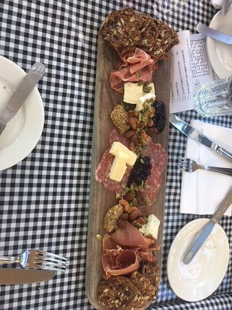 Cheese and meat starter