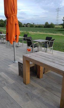 Dijkmoment Zwolle: Terras buiten