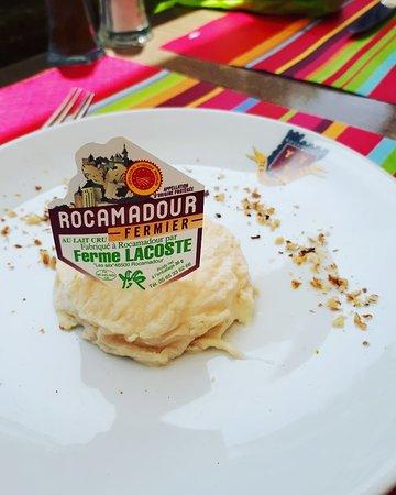 Restaurant la table du cure dans rocamadour avec cuisine - Les jardins de la louve rocamadour ...