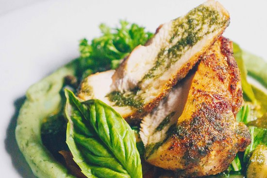 The Mews: Roasted Chicken Breast - Re-Discover Barbados Special Menu - $99 Three Course DInner