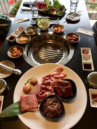 Arisu: Classic Korean BBQ Combo