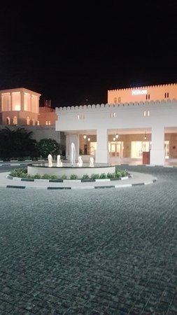 Al Jazirat Al Hamra, United Arab Emirates: Front of the Holtel