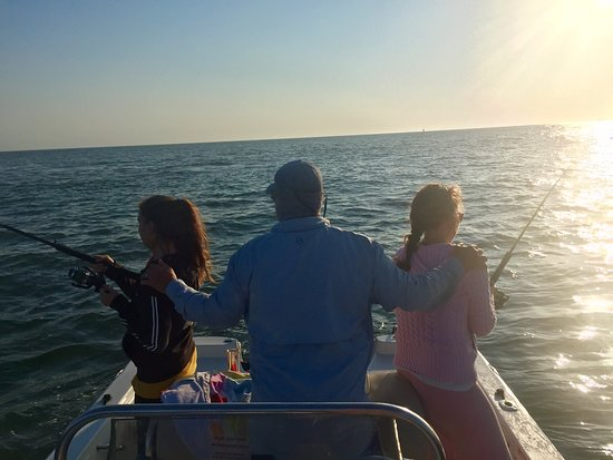 Costa de Carolina del Sur, Carolina del Sur: Double rods down - 2 fish on same time with Capt Steve!