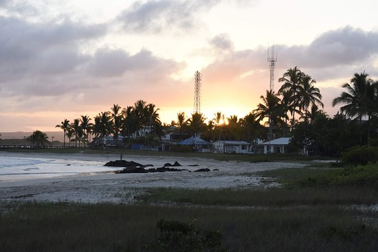 Hotel La Casa de Marita: Sunset view