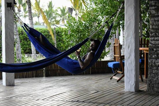 Hotel La Casa de Marita: The hammock