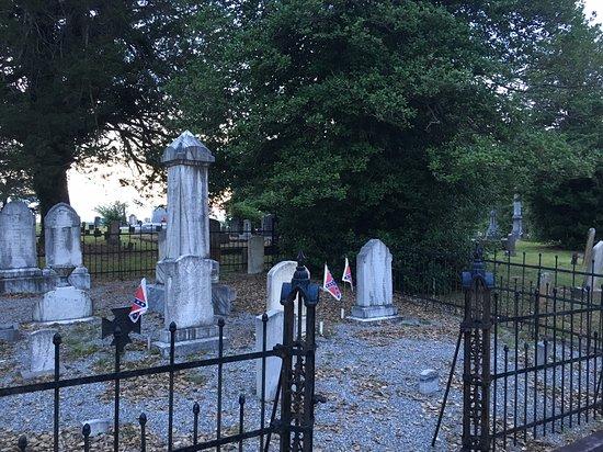 Dahlonega Walking Tours Historic Ghost Walk: Old Dahlonega cemetery.