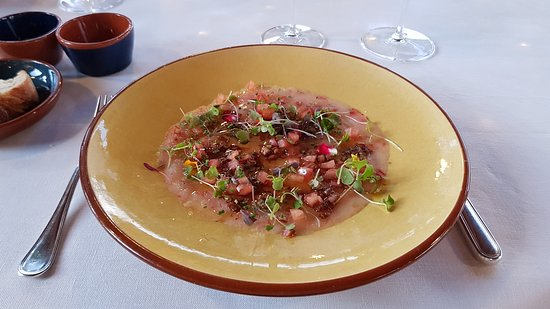 Mas de Torrent: Carpaccio de Gamba