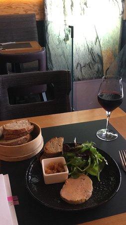 L'Ardoise: foie gras