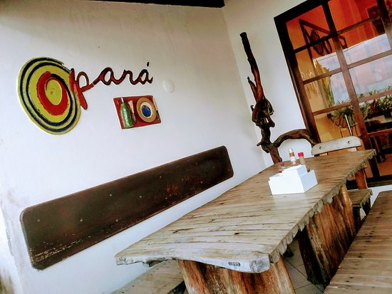 Restaurante Opará - Gaibu: varanda do Opará