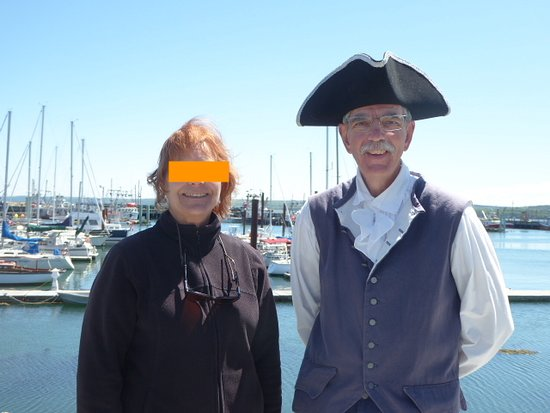 GAEL Tours: Greg in costume for Digby tour