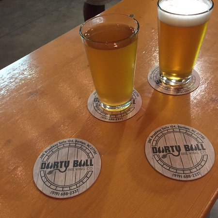 ‪‪Durty Bull Brewing Company‬: Cool local brewery, great sours‬
