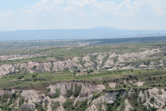 Turkish Heritage Tours -  Day Tours: View from Uchisar Castle