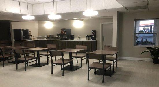 Higginsville, Миссури: Breakfast Area