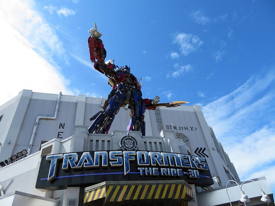Universal Orlando Resort: Transformers Ride