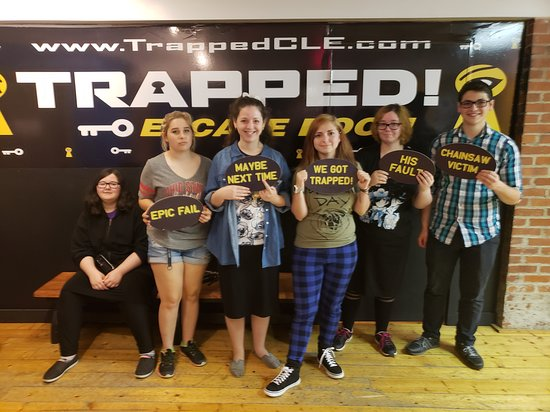‪Trapped! Escape Room‬