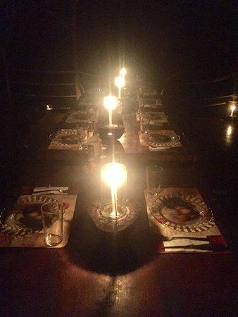 La Carolina Lodge: LOVELY DINNER