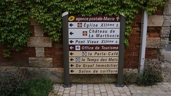 Saint-Jean de Cole: Placas de rua