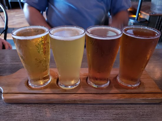The Dog House: Beer flight
