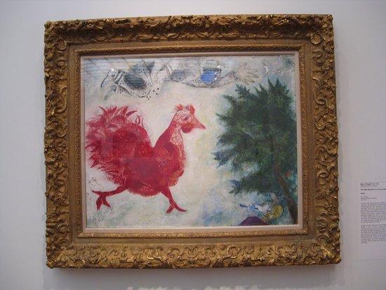 "Cincinnati Art Museum: Painting ""The Red Rooster"""