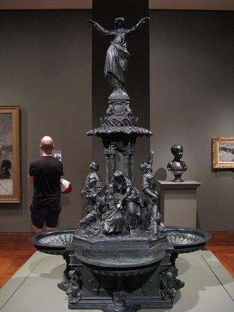 Cincinnati Art Museum: Model for Tyler Davidson Fountain (1871)