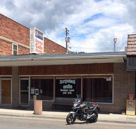 Orofino, ID: ADVrider, great little breakfast & Lunch shop!  :{)