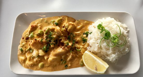 Hursey Seafoods: Fish Curry