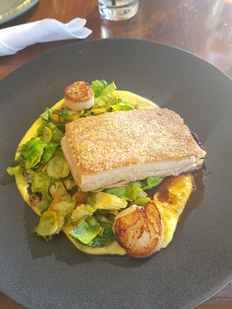 The Boatshed Restaurant: Pork Belly