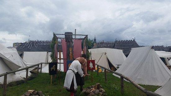 Slavian and Viking centre Vineta: Triglav