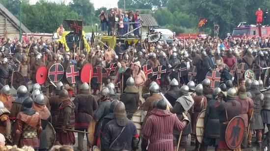 Slavian and Viking centre Vineta: The battle is about to begin