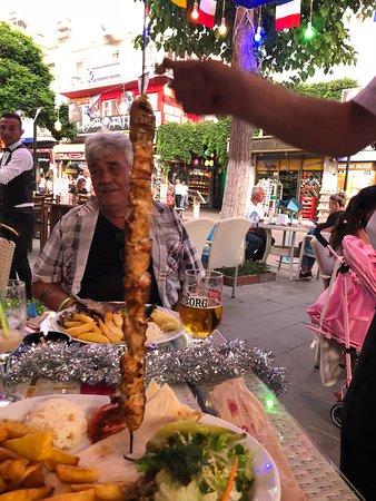 Murphy's Restaurant & Bar: Chicken Shish Kebab