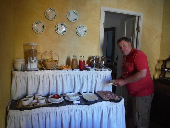 Civitella d'Agliano, Italie : breakfast