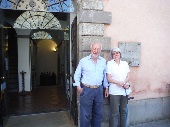 Civitella d'Agliano, Italie : Sergio and Alessandra