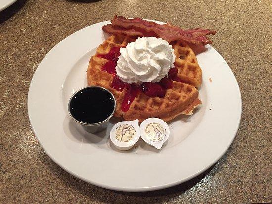 The Pantry: Belgian Waffle w/ Bacon