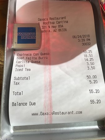 Oaxaca Restaurant: Crazy expensive queso