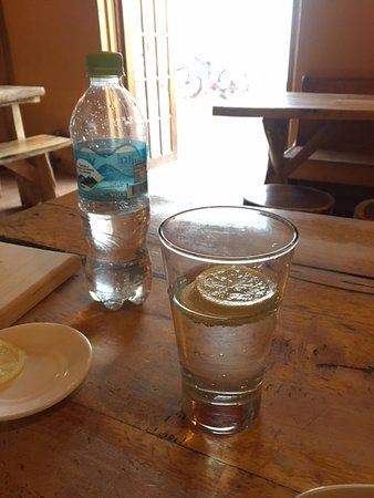 Pizzeria El Charrua: no alcohol