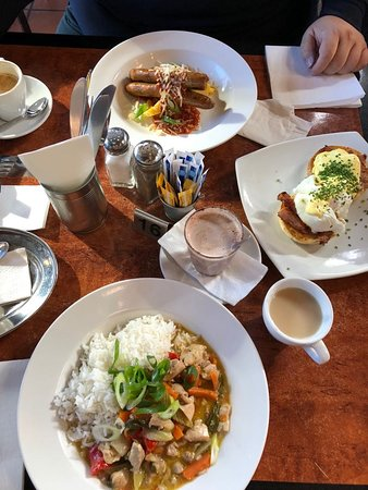 Wentworth Falls, Australia: Our food at Conservation Hut