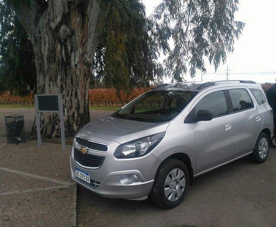 Chevrolet Spin Con Gran Capacidad Picture Of Rutas Del Malbec