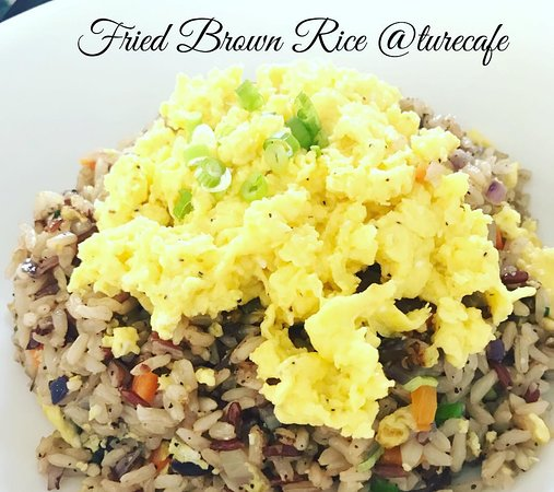 TuRe Cafe: Fried Veggie  Brown Rice