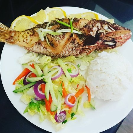 TuRe Cafe: Fried Fish