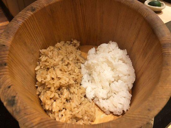 Ginza Sushiichi: Red Vinegar and regular sushi rice