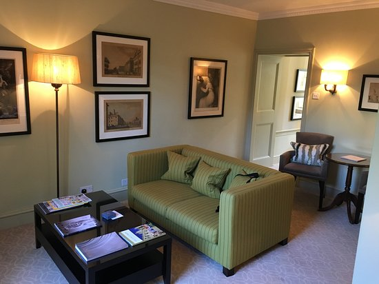 The Royal Crescent Hotel & Spa : Sitting Room