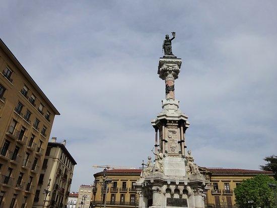 Salinas de Pamplona, Spain: サラサーテ通りに立っています