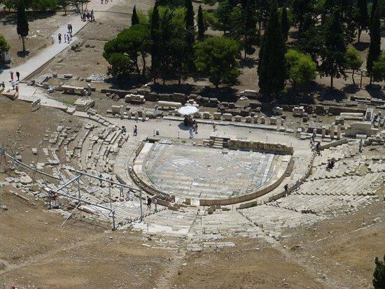 Афинский Акрополь: Viejo teatro