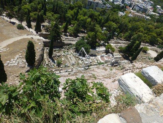 Афинский Акрополь: Parte del desarrollo arquitectónico