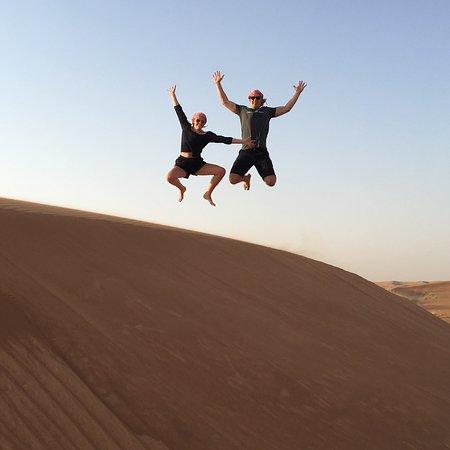 Obraz Desert Safari in a 4 x 4 with Sand Ski and Camel Ride from Dubai